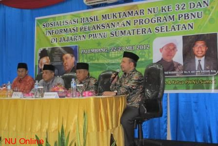 Kang Said Dorong Kemajuan Perekonomian Nahdliyin Sumatera Selatan