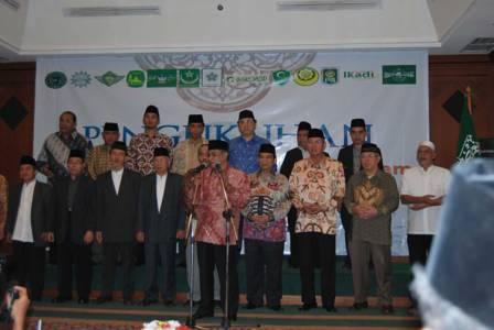 Pengukuhan Lembaga Persahabatan Ormas Islam (LPOI)