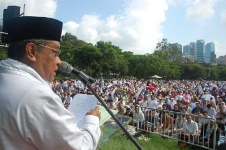 Idul Fitri di Hongkong