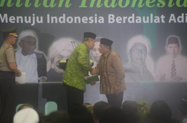 Kedatangan Presiden SBY