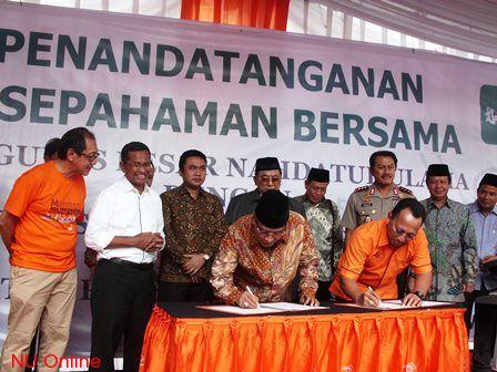 PBNU Tandatangani MoU dengan PT Pos Indonesia