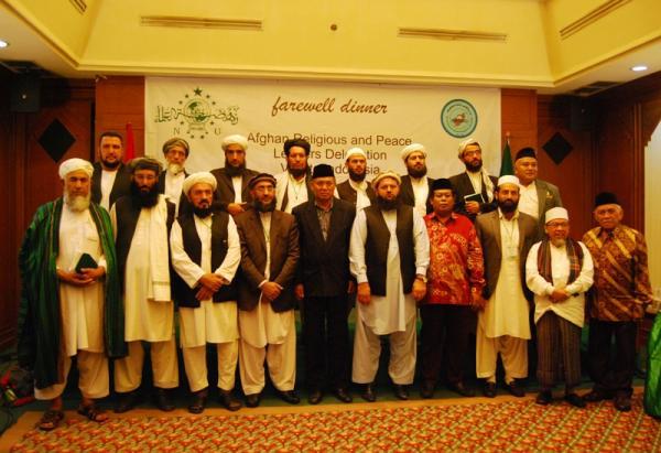 Kunjungan Ulama Afganistan ke Indonesia