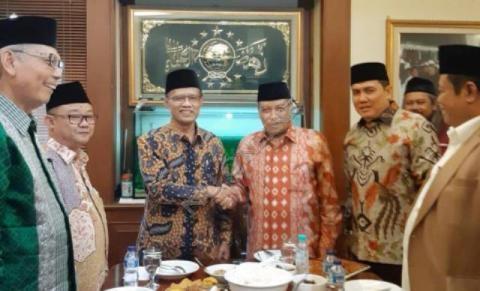 Kunjungan PP Muhammadiyah ke PBNU