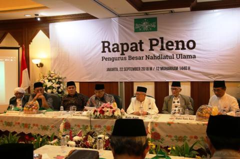 Rapat Pleno PBNU 2018