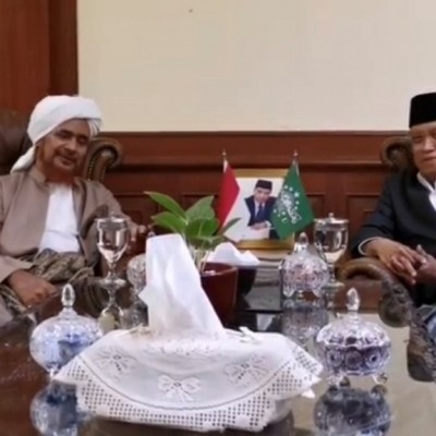 Habib Umar bin Hafidz Berkunjung ke PBNU