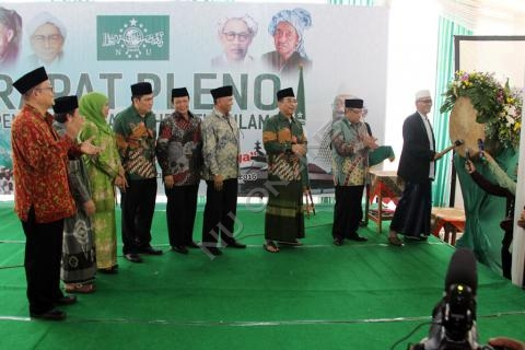 Rapat Pleno PBNU di Ponpes KHAS Kempek Cirebon