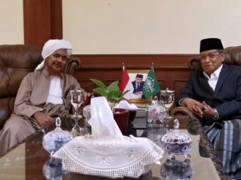 Habib Umar bin Hafidz Berkunjung ke PBNU