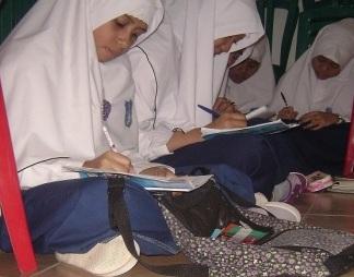 Ngaji Kilatan Ramadhan di Pesantren Seblak