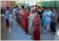 Tutup Pesantren Kilat, Sekolah NU Ajari Siswa Berbagi