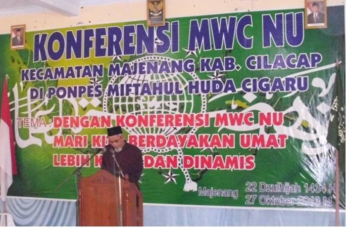Kiai Agus Salim-Musbihin Pimpin MWCNU Majenang