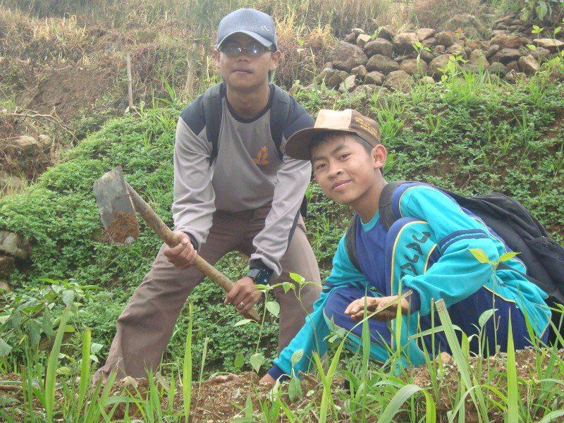 Cinta Lingkungan, Madrasah NU Wonosobo Tanam 1000 Pohon