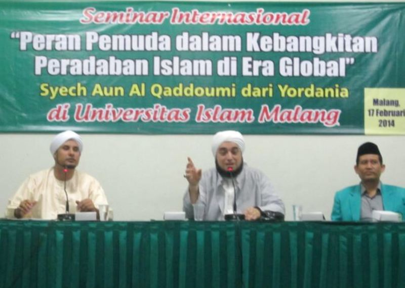 Ulama Yordania: Pemuda NU Mampu Pelopori Peradaban Islam Dunia