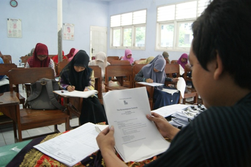 Di Jombang, Ratusan Pelajar Ikuti Seleksi Pesantren Kilat
