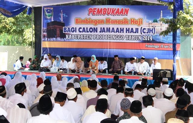 570 Calon Haji Probolinggo Ikuti Bimbingan Manasik