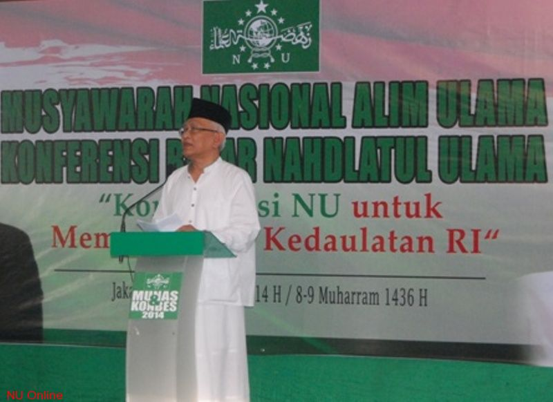 "Rais Aam PBNU Harap Wakil Rakyat ""Move On"""