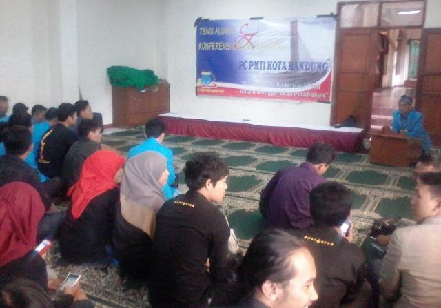 Konferensi di Pesantren, PMII Bandung Kuatkan Roh Pergerakan