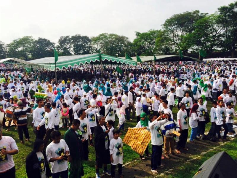 28 Ribu Orang Ikuti Jalan Sehat NU Klaten