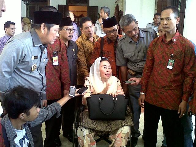 Sinta Nuriyah Minta Pemerintah Segera Lunasi Ganti Rugi Korban Lumpur Lapindo