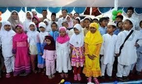 Gema Ramadhan, PMII Tangerang Gelar Pengajian dan Santunan Yatim