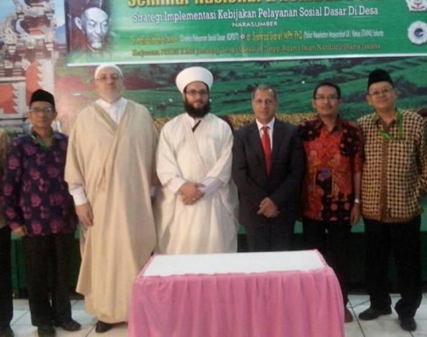 Gandeng STIKES ICME Jombang, STAINU Jakarta Gelar Seminar Rembug Desa