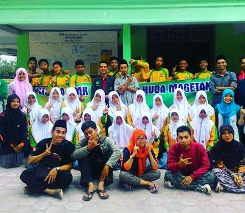 Pelajar NU Magetan Fasilitasi Latihan Kepemimpinan OSIS SMK Raudhotul Huda