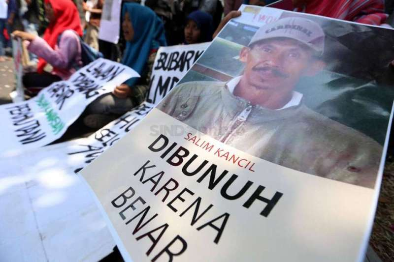Pasca Tragedi Pembunuhan Salim, PCNU Lumajang Dampingi Warga