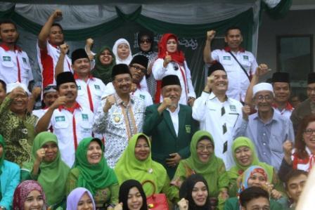 Plt Gubernur Sumut Sambut Kirab Resolusi Jihad
