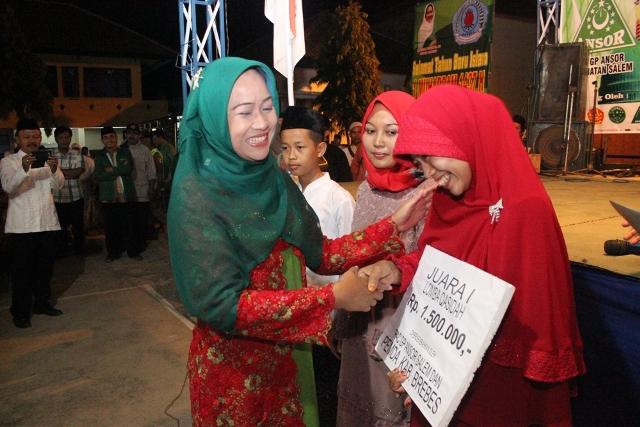 220 Mobil Bak Terbuka, Angkut Pawai Ta'aruf dan Festival GP Ansor Salem