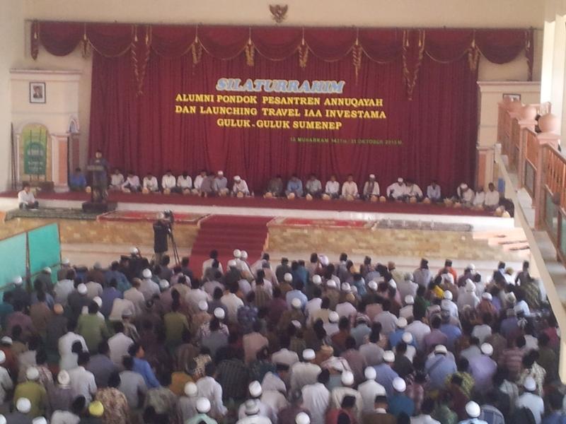 Silaturahim, Pesantren Annuqayah Launching Travel Alumni