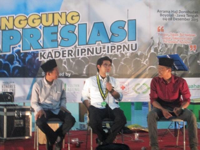 Khairul Anam Apresiasi Keberadaan IPNU Perguruan Tinggi