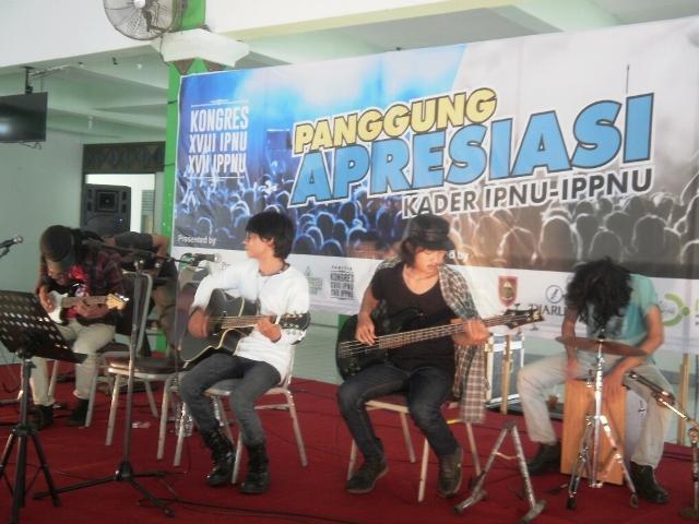IPNU Band Purworejo Dekati Anak Muda Melalui Musik
