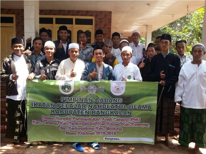 IPNU Bangkalan Gencar Aktifkan Belasan Anak Cabang