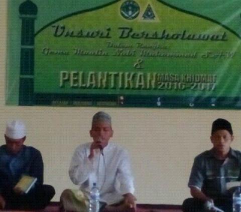 PKPT IPNU-IPPNU Unsuri Gelar Unsuri Bersholawat