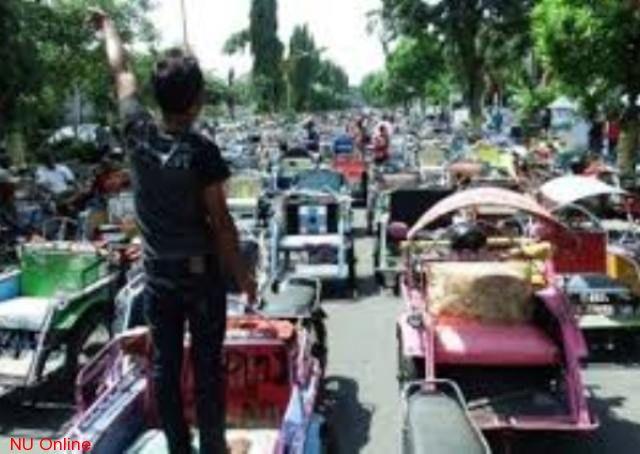 Pabedes Tolak Rencana Larangan Operasi Bentor di Jombang