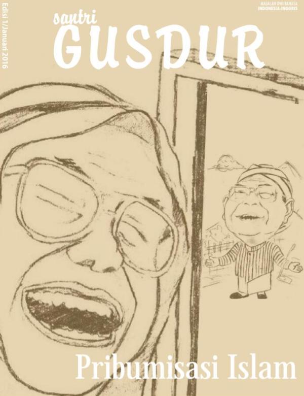 Gus Durian Yogyakarta Luncurkan Majalah Santri Gus Dur