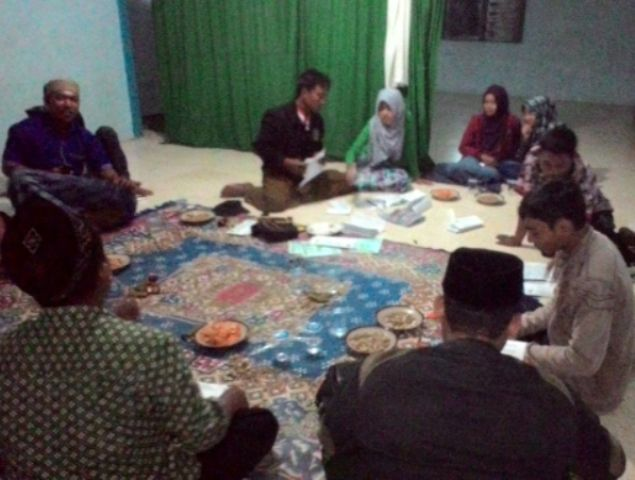 Sosialisasi Program, IPNU-IPPNU Rembang Lakukakan Turba