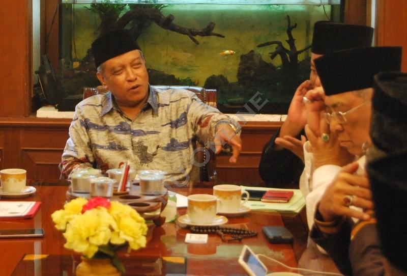 Ketemu Jokowi, Kiai Said Diskusikan Terorisme dan Radikalisme