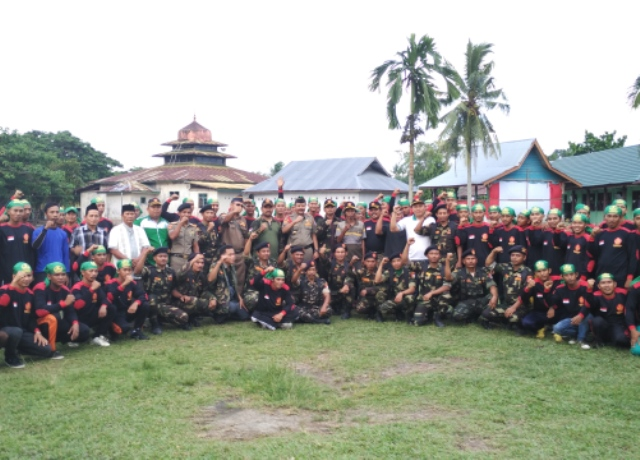 Anggota Banser Siap Kawal Siak-Riau sebagai Bumi Aswaja
