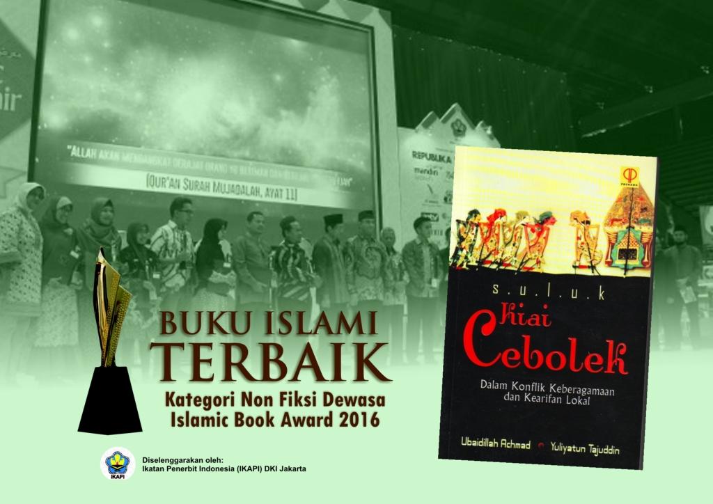 Suluk Kiai Cebolek, Buku Islami Terbaik 2016