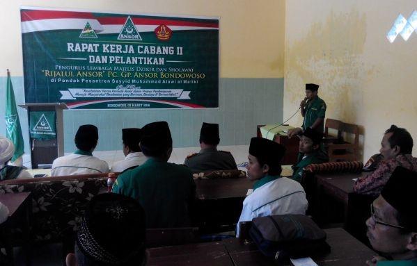 Rakercab Ke-2, GP Ansor Bondowoso Evaluasi Program Kerja