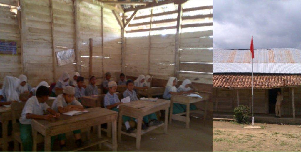 Dinding Kayu Beralas Tanah, Madrasah Ini Tetap Optimis Lahirkan Siswa Berprestasi