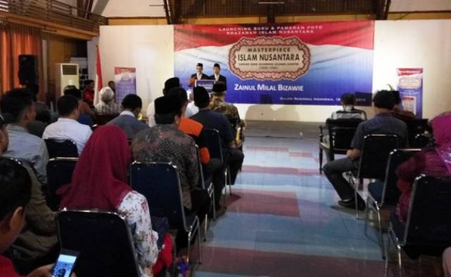 Zainul Milal Bizawie Luncurkan Masterpiece Islam Nusantara