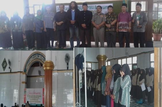 Jelang UN, Pelajar NU Rawalo Kumpulkan Siswa Se-Kecamatan untuk Beristighotsah