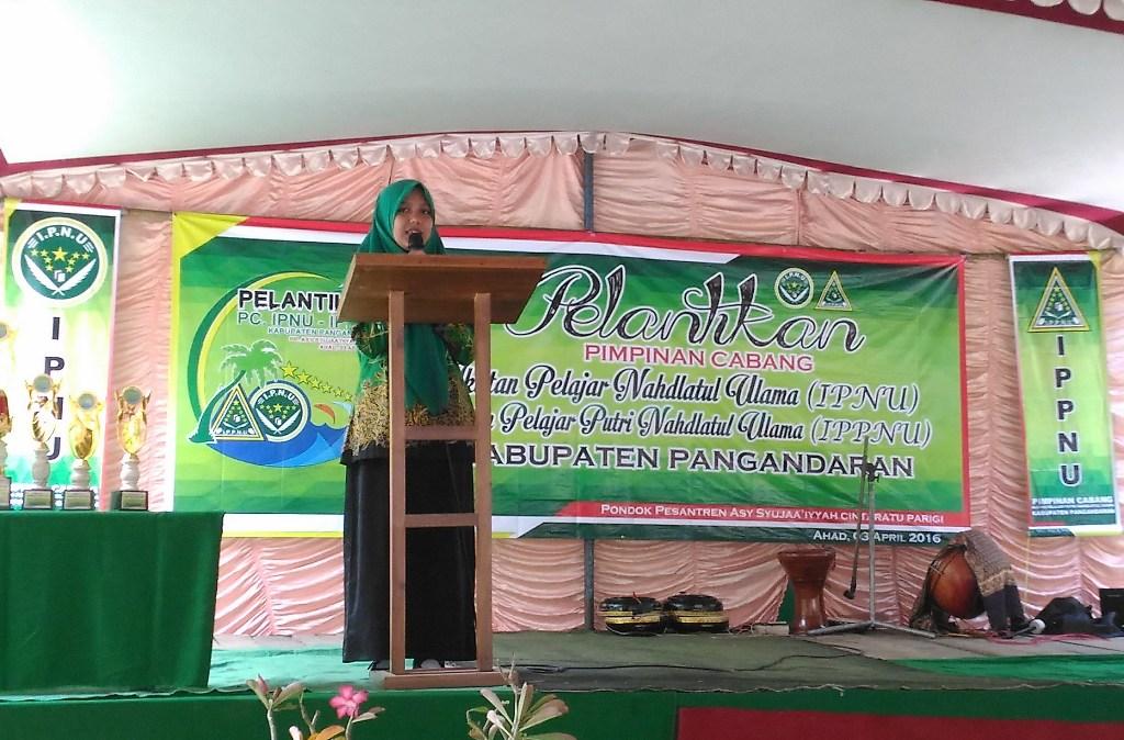 Inilah Ketua Termuda Pimpinan Cabang IPPNU