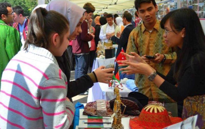 Pelajar Indonesia di Turki Tampilkan Ragam Budaya Nusantara