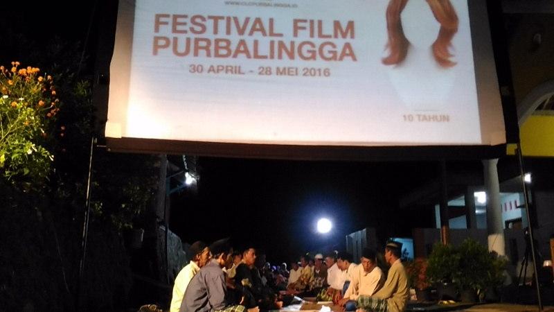 Lepas Tahlilan, NU Tayem Timur Putar Film Nuansa Lokal