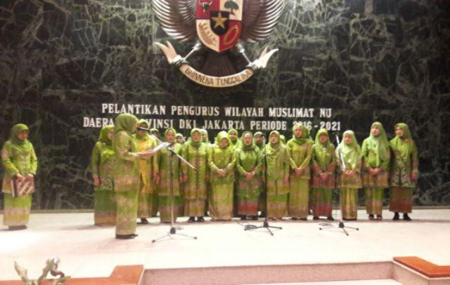 Khofifah Lantik Pengurus Baru Muslimat NU DKI Jakarta
