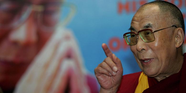 Dalai Lama: Jangan Tuding Muslim Teroris, Semua Agama Punya Orang Jahat
