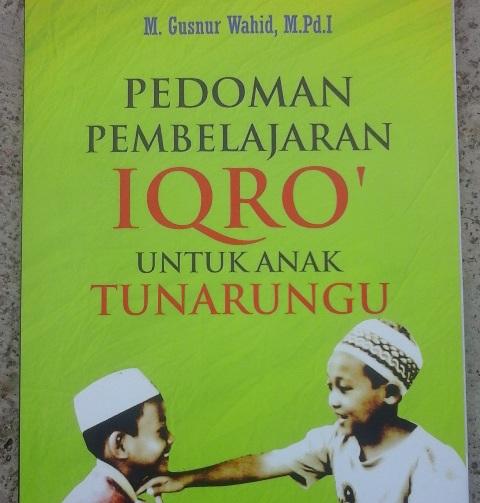 Kader IPNU Lampung Terbitkan Buku Pembelajaran Iqro bagi Anak Tunarungu
