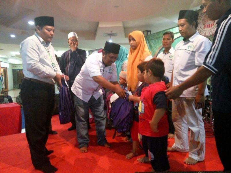 Akhir Ramadhan,LAZISNU Surabaya Percepat Salurkan Zakat dan Infaq Anak Yatim
